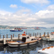 Boats on Bosphorus - Stockfoto
