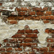 Stock Photo: Grunge red brick wall texture