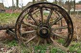 Abandoned dray — Stock Photo