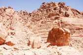 Erosion in Red Rock Hills — Stock Photo