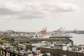 Traffic by Port of Seattle — Stock Photo