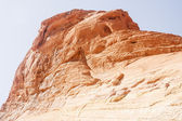 Sunlight on Red Rock Cliff — Stock Photo