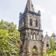Stock Photo: Old Stone Church in Rosseau Dominica