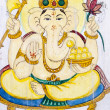 Stock Photo: Hindu elephant-headed God.