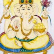 Hindu elephant-headed God. - Stock Photo
