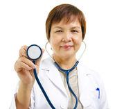 Mature doctor — Stock Photo
