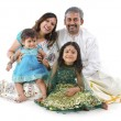 Indian family — Foto Stock