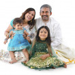 Stock Photo: indian family