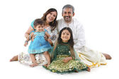 Indian family — Stock Photo