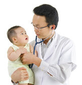 Children's doctor — Stock Photo