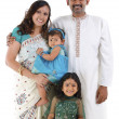 Traditional Indian family - Stock Photo