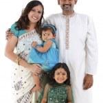 tradycyjna rodzina indian — Zdjęcie stockowe