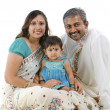 Indian family — Stock Photo #11188970