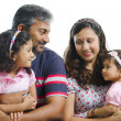 Foto Stock: Family communication