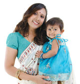 Indian mother and baby girl — Stock Photo