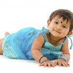 Indian baby girl — Stock Photo