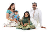 Traditional Indian family — Foto de Stock