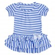 Striped Baby Dress — Stock Photo