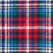 Fabric plaid texture — Stock Photo