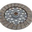 Clutch disc isolated on white — Stock Photo