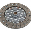 Stockfoto: Clutch disc isolated on white