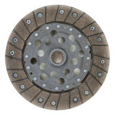 New clutch disc from the modern car — Stock Photo