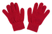 A pair of red gloves — Stock Photo