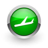 Airplane icon — Стоковое фото