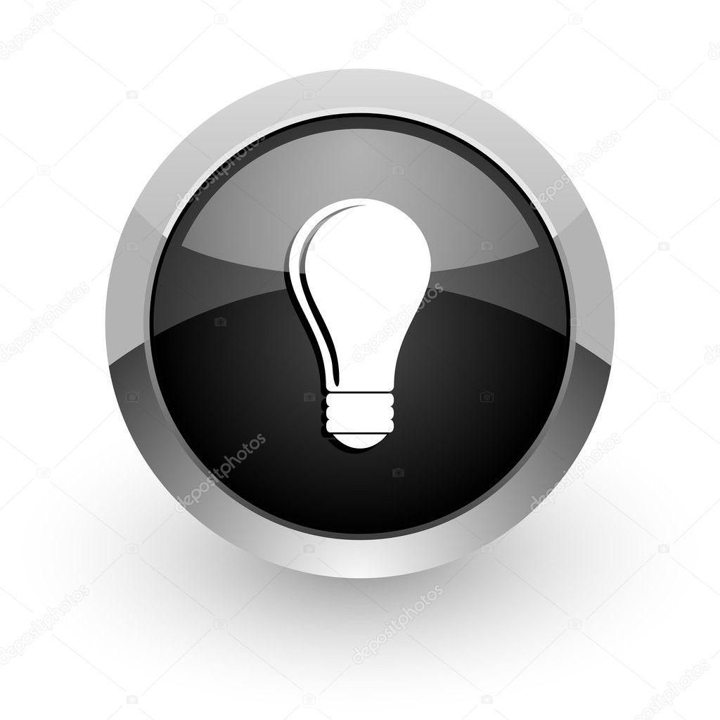Bulb icon — Stock Photo #11792556