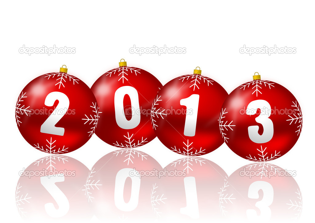 2013 new year illustration — Foto de Stock   #12105875