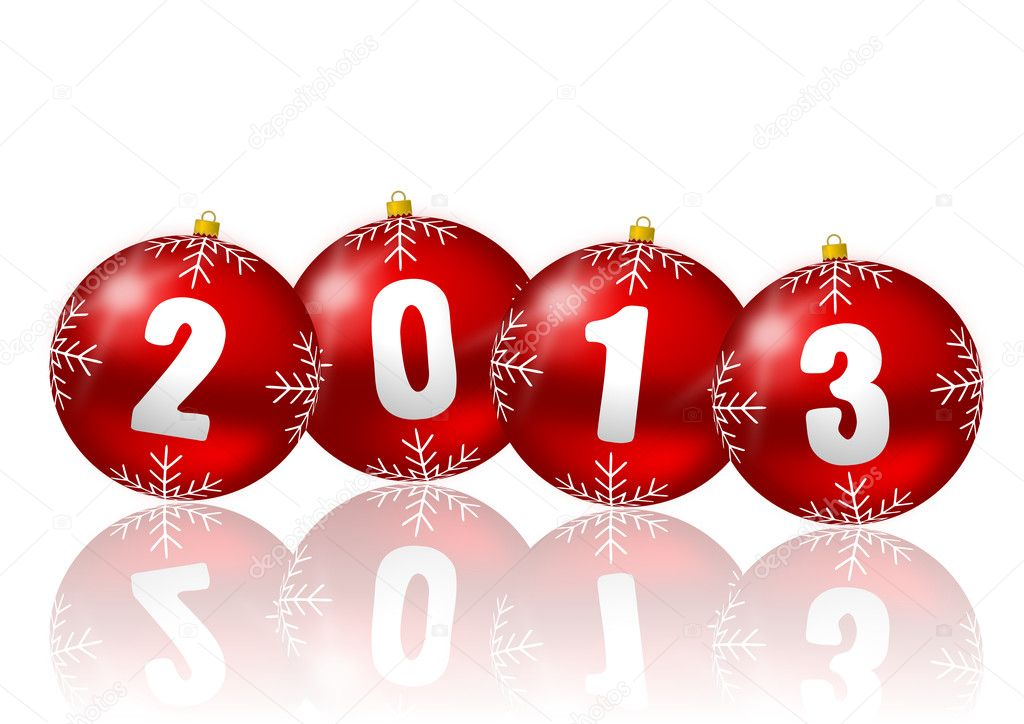 2013 new year illustration — Foto Stock #12105875