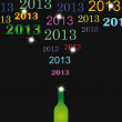 New Year 2013 — Vektorgrafik