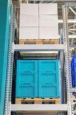 Plataforma de almacén — Foto de Stock