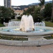Monaco fountain — Stock Photo