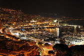 Monaco night — Stock Photo