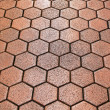 Stock Photo: Hexagon tiles