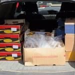 Delivery mini van — Stock Photo #11644231