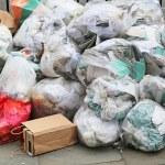 Garbage bags — Stock Photo