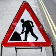 Road works — Stock Photo #11644320