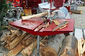 Wood splitter — Stock Photo