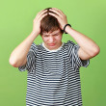 Headaches boy — Stock Photo #11972917