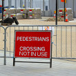 Stock Photo: Pedestrians crossing