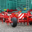 Disc harrow - Stock Photo