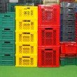 Plastic crates — Stock Photo #12173818
