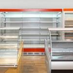 Empty shelves — Stock Photo #12186332