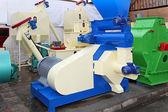 Biomass production equipment — Stock Photo