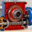 Stock Photo: Gears section