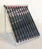 Solar water collector — Stock Photo
