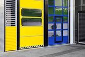 Industrial doors — Stock Photo