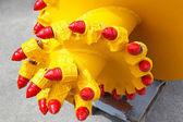Mining drill head — Stock Photo